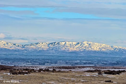 Across the Treasure Valley looking toward Boise. It was a beautiful day!